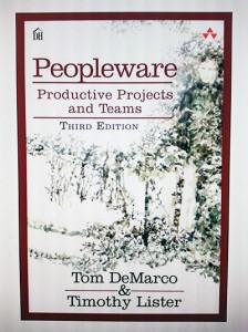 obálka knihy Peopleware