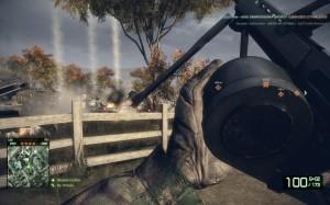 Mortar Strike na tank zatiaľ čo prebíjam